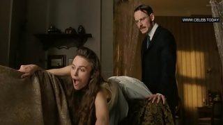 Keira Knightley – Kinky Sex Scenes, Doggystyle – A Dangerous Method (2011)