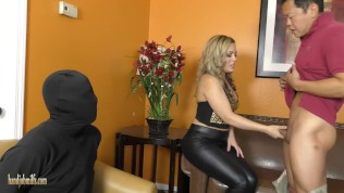 Carmen humiliates her cuckold husband – from Handjob Milfs